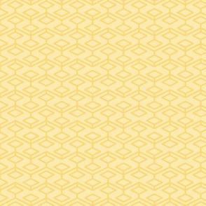 two-tone geometric pattern 18 in yellows