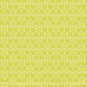 two-tone geometric pattern 21 in lime green