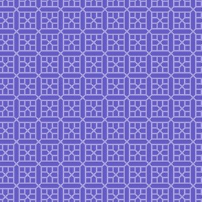 two-tone geometric pattern 22 in violets