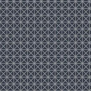two-tone geometric pattern 24  in grays