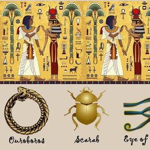 Egyptian Hieroglyphics Talisman