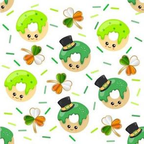 St. Patrick's Day Kawaii Donuts