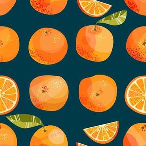 Oranges Dark Small