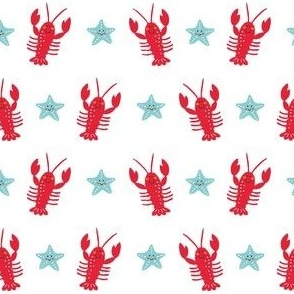 Happy lobsters