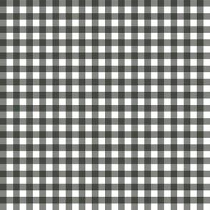 Gingham Black & White Small