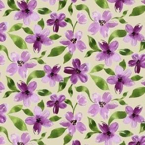 pretty in purple in beige