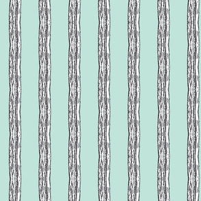 Ripplesstripe Mint and Grey