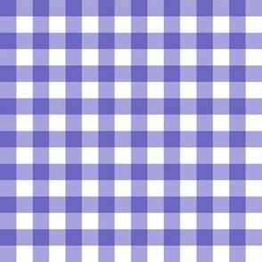 Gingham Purple Small