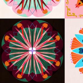 kaleidoscope patchwork large