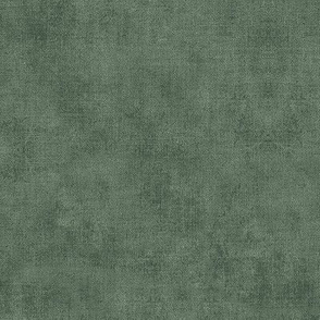 Linen Texture in Vintage Green   Faded green linen pattern, rustic coordinate fabric for the Indian Woodblock pattern (gold and green).