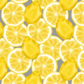 lemon cluster - grey