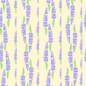 lavender stripes - light yellow