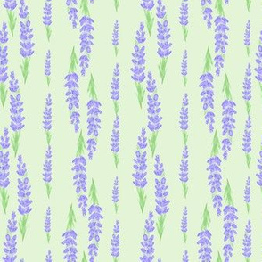 lavender stripes - mint