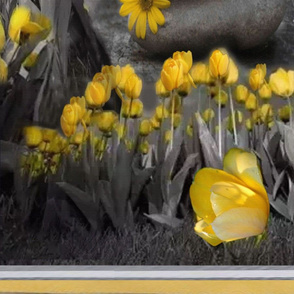 wallpaper grey yellow sunset wallpaper drop