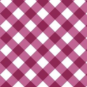 Gingham Pink Bias