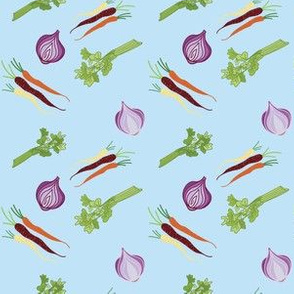 Onions Celery and Carrots Oh My!