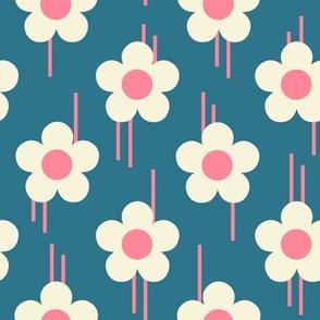 Retro - Pop of flowers