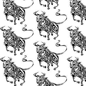 Inkblot Year of the Ox
