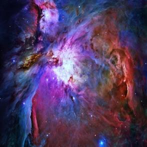 Orion Nebula (Hubble 2006, colours edited)