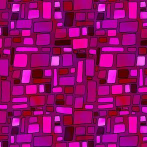 Cerise Mosaic