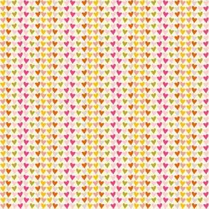 TWIRL 4 hearts playful nursery infant valentines love pastel terriconraddesigns