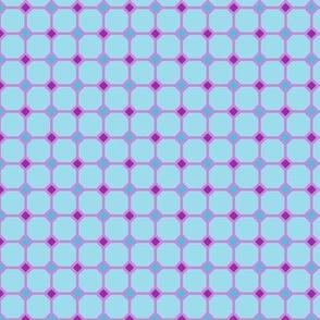 Grid with Diamonds: Four-Tone