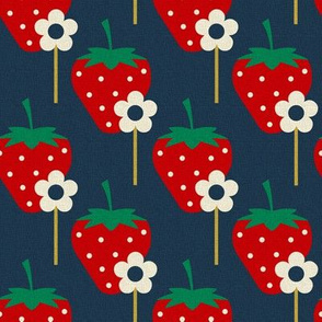 Strawberries _ Flowers sticks