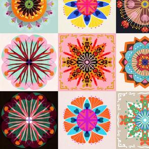 kaleidoscope patchwork medium