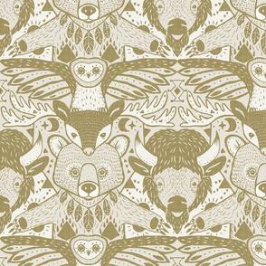 damask totem -original colour