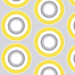 Target Spot yellow  gray