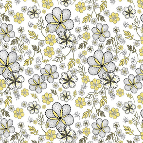 Illuminating and Gray Flowers