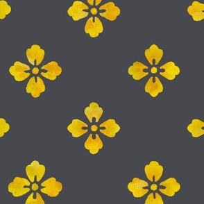 Gray & A Little Yellow