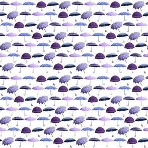 Umbrellas Pattern - Lavender