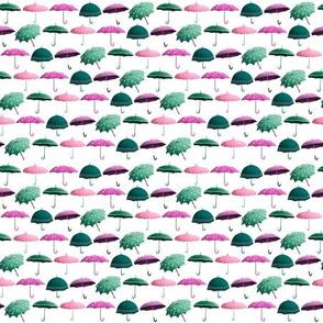 Umbrellas Pattern - Spring