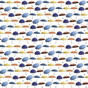 Umbrellas Pattern - Retro
