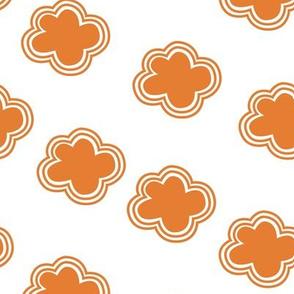 Cloud crowd - orange