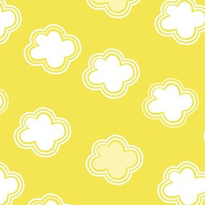 Cloud crowd - yellow