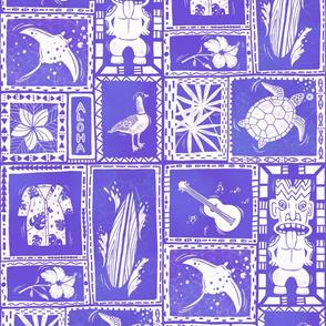 Hawaii Hidden Objects violet