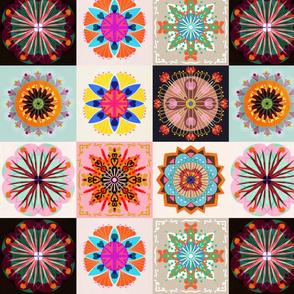 kaleidoscope patchwork small