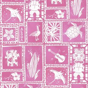 Hawaii Hidden Objects pink