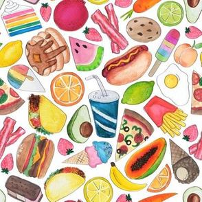 all the foods