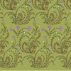 Fantasy_modern_damask_in_green-gold-yellow-white-black-lilac