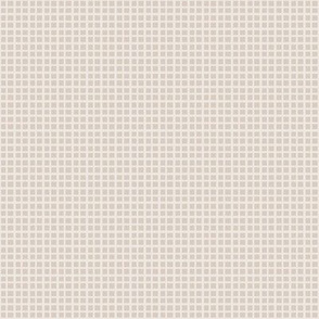 Background Pattern Light Greige Two-Tone Plaid (Small)
