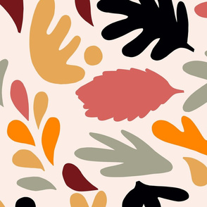 Retro Fall in Love - Matisse Foliage - L