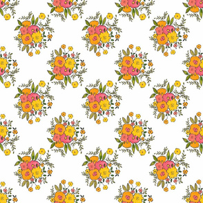 1C doodle flowers cheerful artistic youthful playful scale TerriConradDesigns
