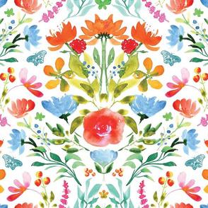 RK Designs Watercolour Damask Original