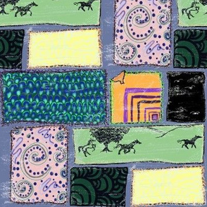 patches with horses
