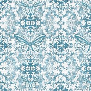 New Damask Wildflowers n Butterflies