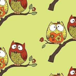 Decorative Owls