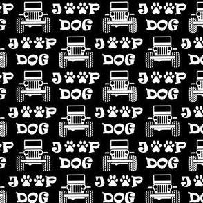"jeep dog 1"" black"